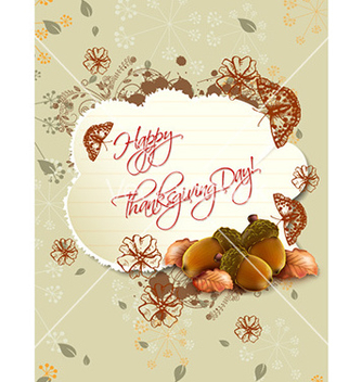 Free happy thanksgiving day with torn paper vector - бесплатный vector #224269