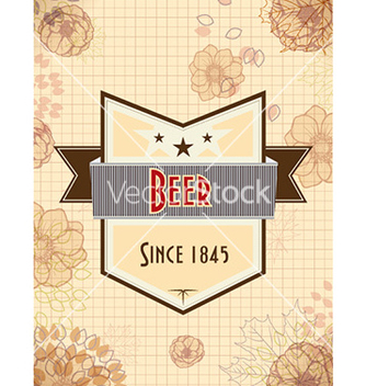 Free oktoberfest celebration with label vector - vector gratuit #224659
