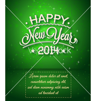 Free happy new year vector - vector gratuit #224729