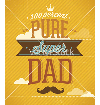 Free fathers day vector - Free vector #224869
