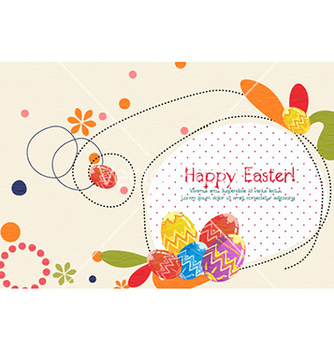 Free easter background vector - vector gratuit #225049