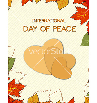 Free international day of peace vector - бесплатный vector #225149
