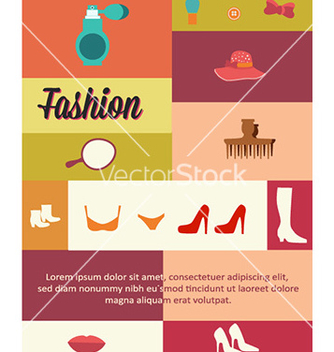 Free with fashion elements vector - Free vector #225289