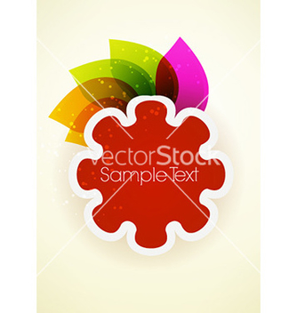 Free abstract leaves vector - Free vector #225629