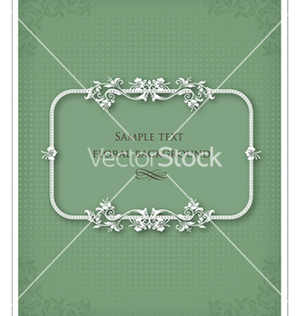 Free floral frame vector - Kostenloses vector #225849