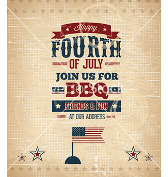 Free fourth of july vector - бесплатный vector #225939