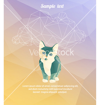 Free with abstract background vector - бесплатный vector #225989