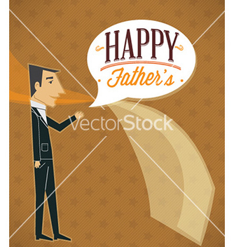 Free fathers day vector - Free vector #226089