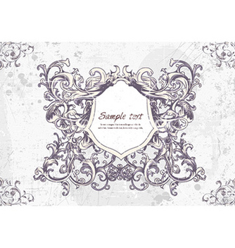 Free frame with floral vector - Kostenloses vector #226169