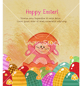 Free easter background vector - Kostenloses vector #226279
