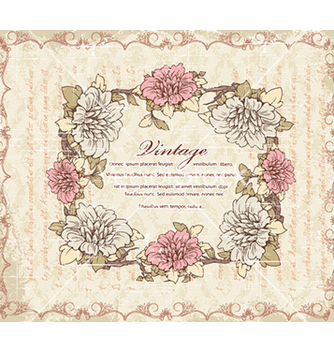 Free vintage frame vector - Free vector #226289