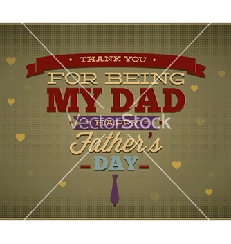 Free fathers day vector - Free vector #226419