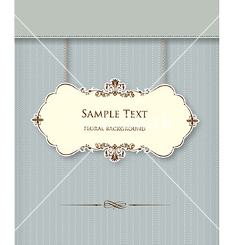 Free floral frame vector - Kostenloses vector #226469