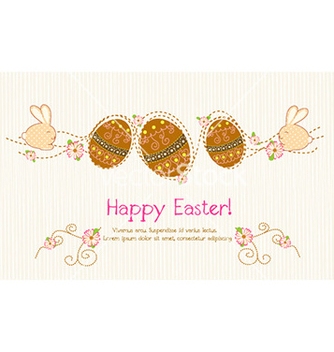 Free easter background vector - vector gratuit #226569