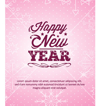 Free happy new year vector - Free vector #226579