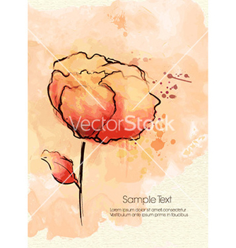 Free colorful floral background vector - vector #226609 gratis