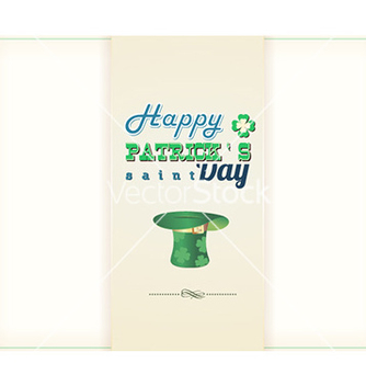 Free st patricks day vector - бесплатный vector #227029