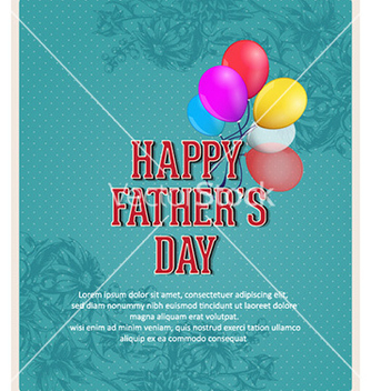 Free fathers day vector - Free vector #227339