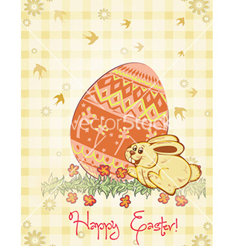 Free easter background vector - vector gratuit #227429