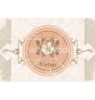 Free vintage background vector - vector #227549 gratis