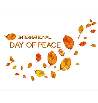 Free international day of peace vector - бесплатный vector #228019