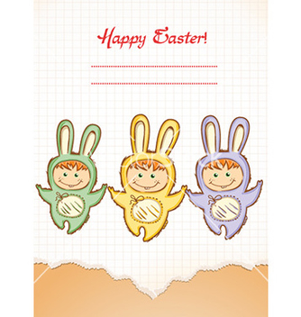 Free easter background vector - Kostenloses vector #228079