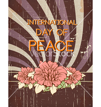 Free international day of peace vector - Kostenloses vector #228119