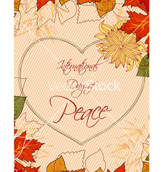 Free international day of peace vector - бесплатный vector #228289
