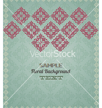 Free floral background vector - Free vector #228489