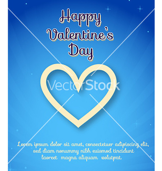 Free happy valentines day vector - vector #228599 gratis