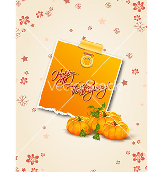 Free happy thanksgiving day with sticker vector - Free vector #229099