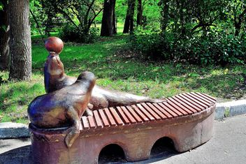 Sculptural bench - image #229399 gratis