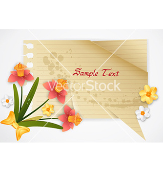 Free spring frame vector - Free vector #229799