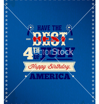 Free fourth of july vector - бесплатный vector #229849