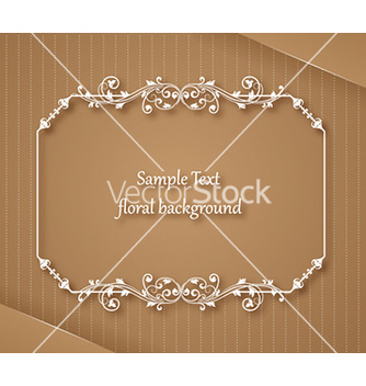 Free floral frame vector - Kostenloses vector #229979