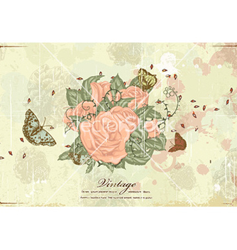 Free butterflies with floral vector - Free vector #230099