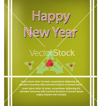 Free happy new year vector - vector gratuit #230159