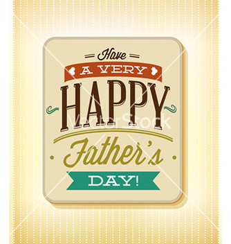 Free fathers day vector - Free vector #230349