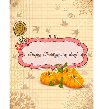 Free happy thanksgiving day vector - Kostenloses vector #230439