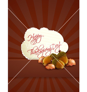 Free happy thanksgiving day with sticker vector - Free vector #230729