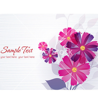 Free spring floral background vector - Free vector #231049
