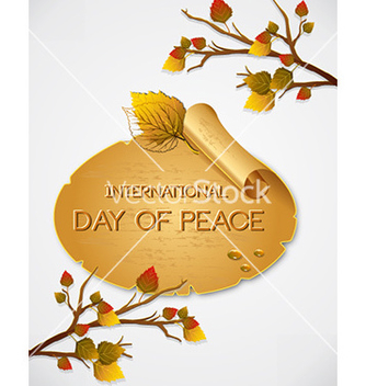 Free international day of peace vector - Kostenloses vector #231199