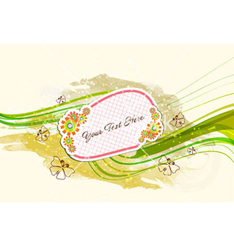 Free watercolor floral frame vector - бесплатный vector #231439