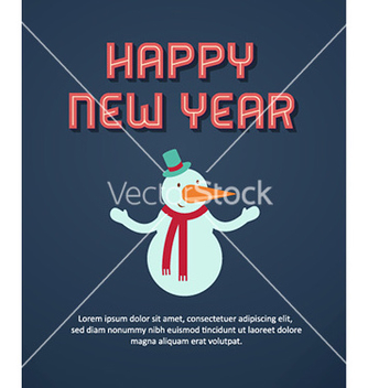 Free happy new year vector - vector #231819 gratis