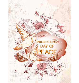 Free international day of peace vector - бесплатный vector #232419