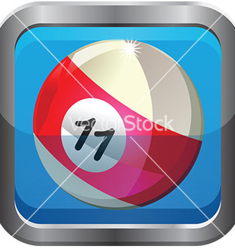 Free pool ball icon vector - Kostenloses vector #232699