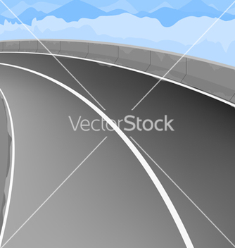 Free elevated road scene vector - vector gratuit #233189