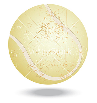 Free tennis ball vector - vector gratuit #233479