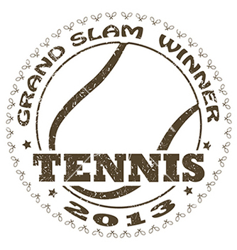 Free tennis label vector - Free vector #233699