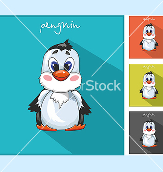 Free with a penguin icon vector - vector gratuit #234089